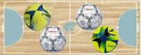 balones de fútbol y fútbol sala