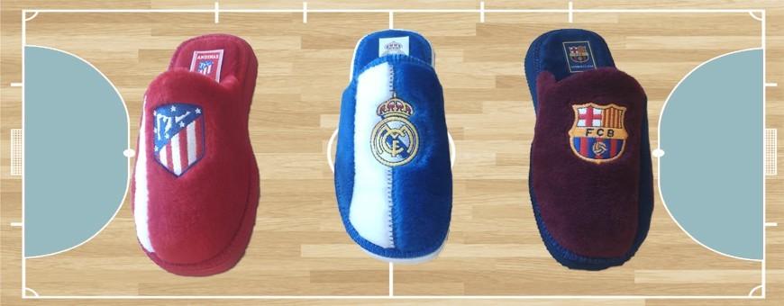 Zapatillas de casa de equipos oficiales con licencia